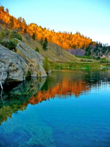 Undeveloped Hot Springs in Montana - Montana Hot Springs